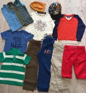 Пакет вещей на мальчика 5-6 лет.