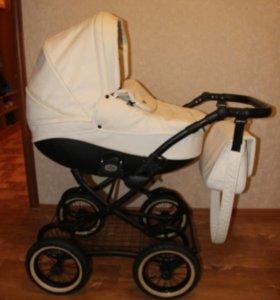 Детская коляска тутис зиппи классик 2в1.