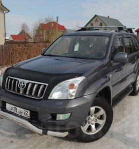 Пластик багажника Toyota Land Cruiser Prado 120