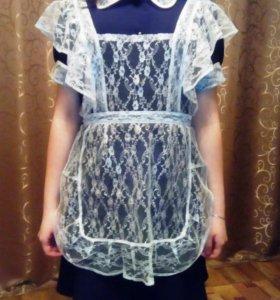 Школьная форма и платье.