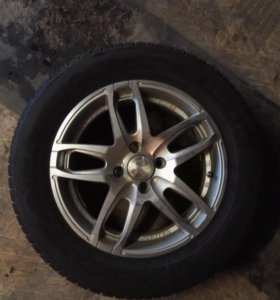 4 колеса на литых дисках
