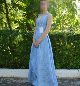 Платье с 3D рисунком