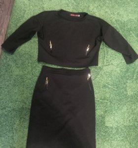 Костюм юбка и кофта