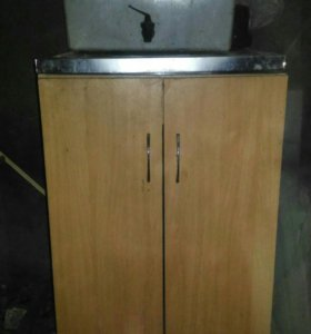 Шкаф с мойкой для кухни