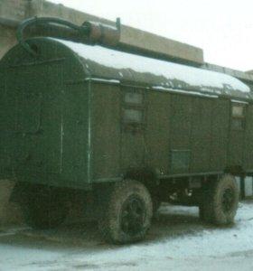 прицеп-кунг 5,5* 2,3 м .Марка МАЗ-5207