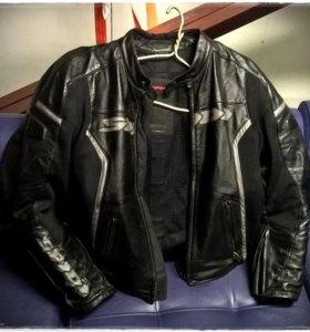 Кожаная куртка и штаны SPIDI