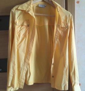 Жёлтая рубашка, торг возможен