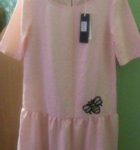 Новое Летнее нежное платье