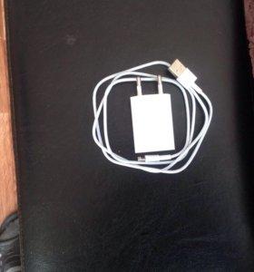 Адаптер с кабелем на Айфон 5 и выше новый