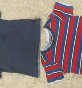 Две футболочки в комплекте по 50 рублей каждая