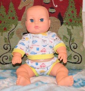 Кукла пупс Мишенька 35 см Беларусь