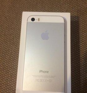 iPhone 5s 16gb серебристый