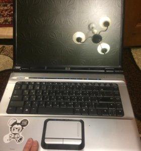 На запчасти ноутбук hp