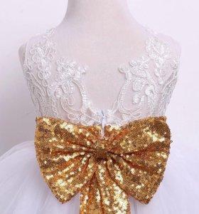 Шикарное платье на выпускной д/с (новое)
