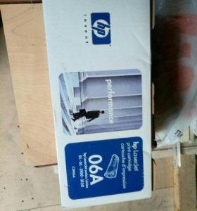 Новый в упаковке Картридж HP C3906A Black