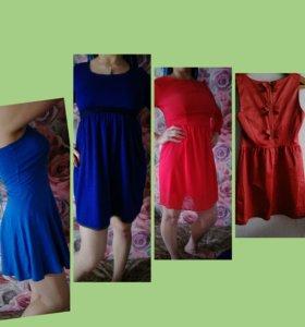 4 летних платья