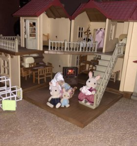 дом sylvanian families