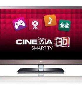 """3D LED SmartTV телевизор LG 47LW575 экран 47"""""""