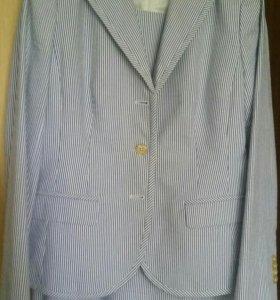 Комплект (пиджак и платье) летнее