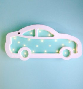 Детский ночник Машина
