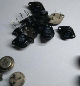Транзисторы СССР П201аэ,П213Б,П217В
