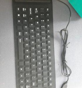 Силиконовая клавиатура (новая)