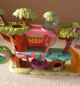 Pet shop домик на дереве