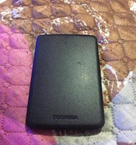 Портативный жёсткий диск Toshiba