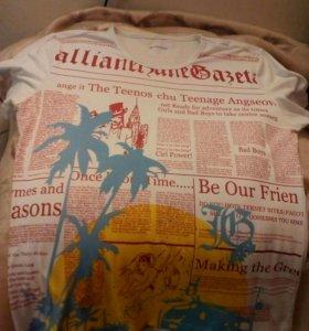 Классная футболка Galliano для стильных