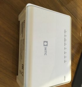 Wi-fi роутер от МТС