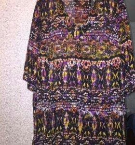 Блузы большого размера