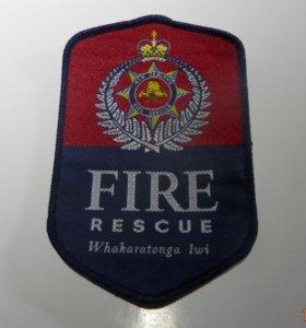 Шеврон пожарной компании