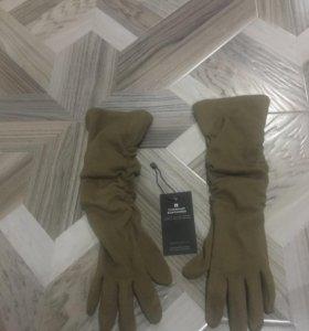 Перчатки длинные шерстяные