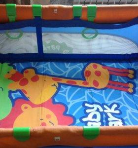 Детская кроватка 2в1