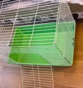 Клетка для кроликов, шиншилл, морских свинок.