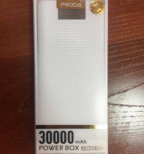 Power bank 30 000 mAh