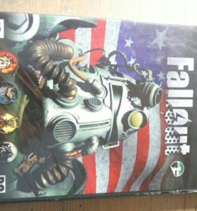 Диск для пк антология Fallout-1,2,3.