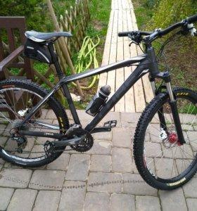 Горный велосипед CUSTOM TUNING на раме Cube Analog