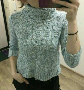 Укороченый свитер zara