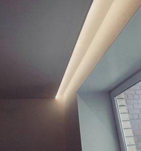 Натяжные потолки в Успенки