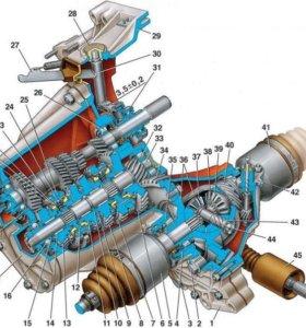 Продам кпп и двигатель от Ваз 2108