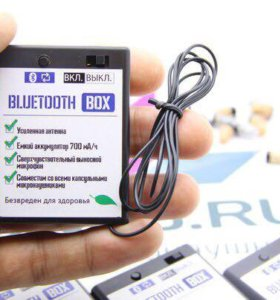 Микронаушники Bluetooth Box 2