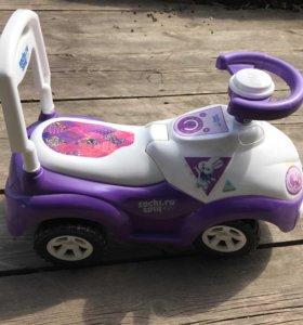 Машинка детская самокат!