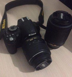 Nikon D3100 + 2 объектива