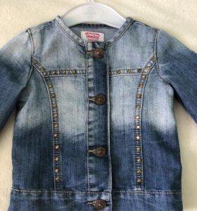 Джинсовая куртка на 1 годик