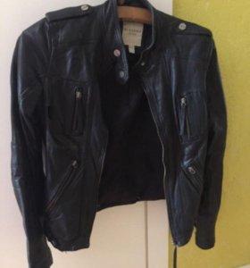Кожаная куртка с дефектом