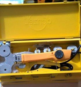 Аппарат для сварки пластиковых труб Denzel