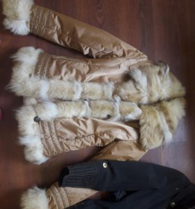 Шуба-куртка в подарок плащ