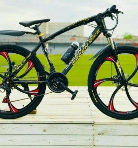 Велосипед на литых дисках ЯГУАР