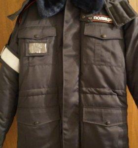 Бушлат полиции зимний